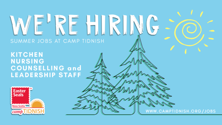 Summer Jobs at Camp Tidnish – Now Hiring!