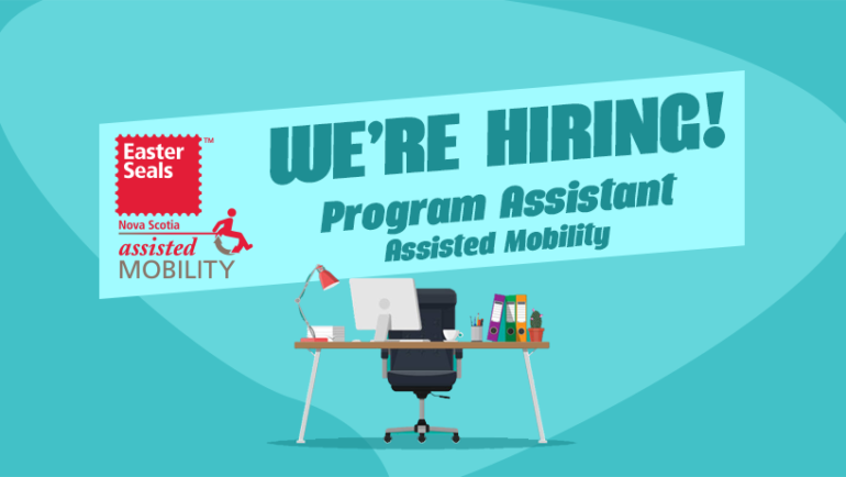 We're Hiring: Program Assistant – Assisted Mobility Program